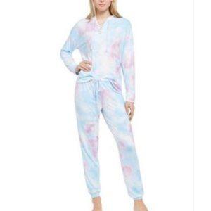 NWT! Jenni Lace-Up Hoodie & Pants 2pcs Pajama